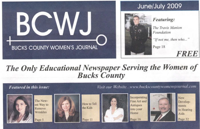 Bucks County Women's Journal features Kristie Finnan Mulit-tasking Mom